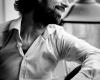 Portretfotografie man fotoshoot zwart-wit portret