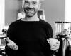 Zakelijk portret man koffiezaak
